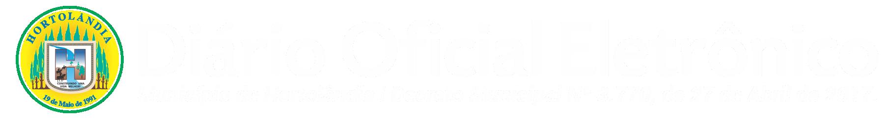 Diario Oficial Eletrônico do Município de Hortolândia - SP